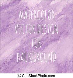 vattenfärg, violett