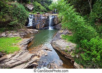 vattenfall, på, sri lanka