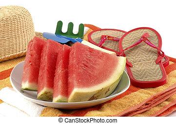 vattenmelon, behandla
