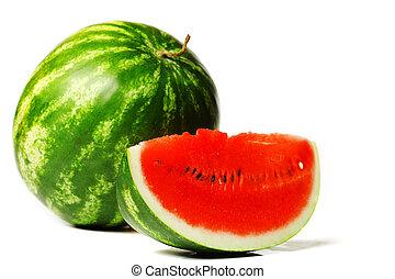vattenmelon, skiva