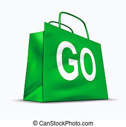 vaya de compras, símbolo