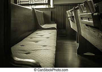 vazio, igreja