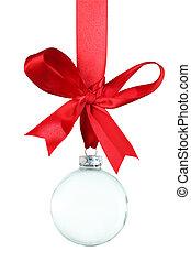 vazio, ornamento natal