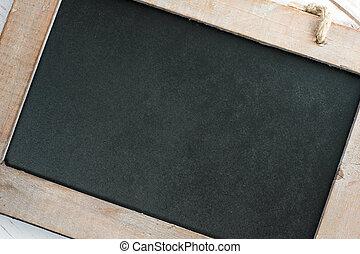 vazio, quadro-negro