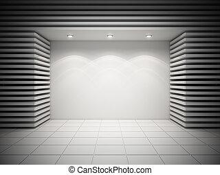 vazio, storefront