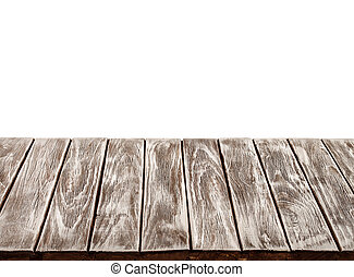 vazio, tabela madeira, topo