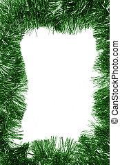 vazio, verde, natal, quadro