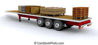 veículo pesado mercadoria