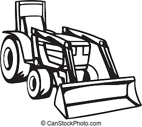 veículos, agricultura