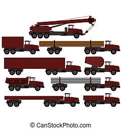 veículos construção