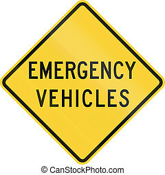 Veículos, emergência