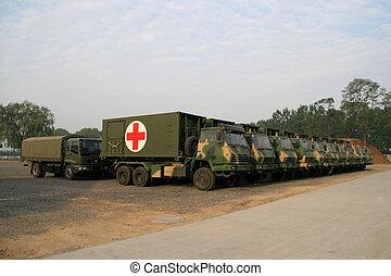 Veículos, salvamento, emergência