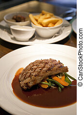 Veal Entrecote with Fries