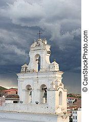 vecchia chiesa, tower.