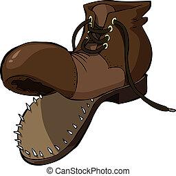 vecchia scarpa