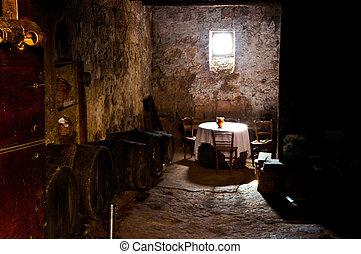 (vecchia, vieux, cantina), établissement vinicole