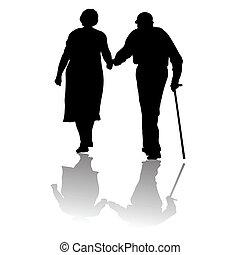 vecchie persone