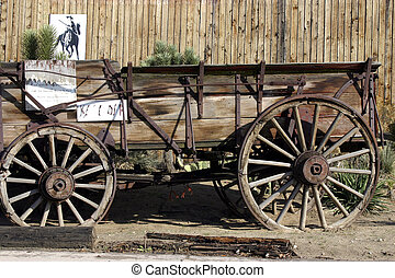 vecchio, anticaglia, carro