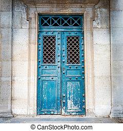 vecchio, antico, porta principale
