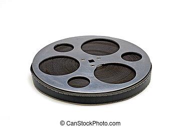 vecchio, bobina, film