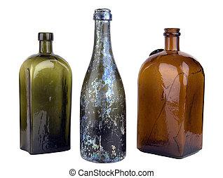 vecchio, bottiglia