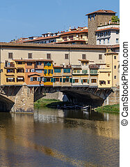 Vecchio Bridge over the Arno River in Florence