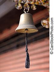 vecchio, campana oro
