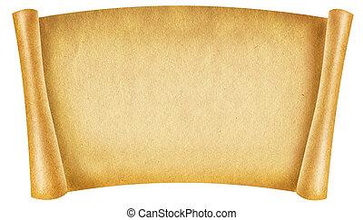 vecchio, carta, texture.antique, fondo, rotolo, per, testo,...
