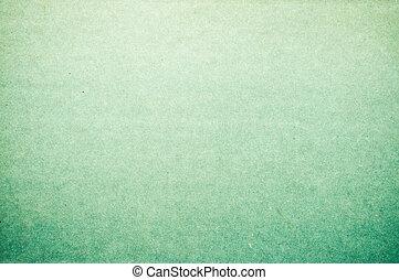 vecchio, carta, verde, struttura