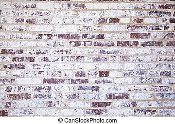 vecchio, Case, pareti, storico, mattone, struttura, Tipico