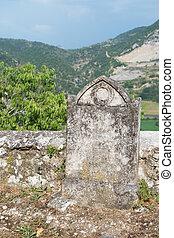 vecchio, cimitero