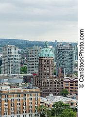 vecchio, costruzioni,  Vancouver