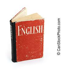 vecchio, dizionario, inglese