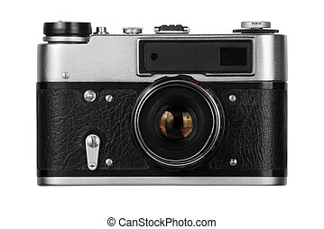 vecchio, film, macchina fotografica