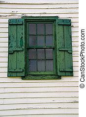 vecchio, finestra
