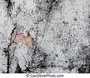 vecchio, grunge, parete