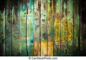 vecchio, legno, fondo