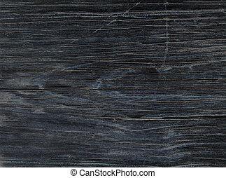 vecchio, legno, nero, asse