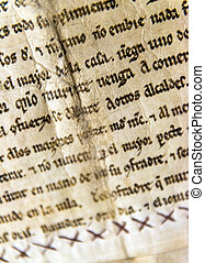 vecchio, manoscritto