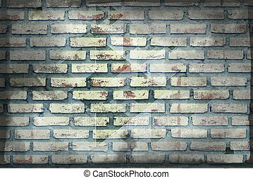 vecchio, muro di mattoni