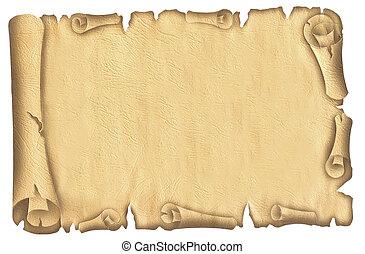 vecchio, papiro