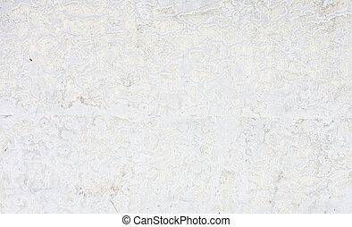 vecchio, parete, cemento, struttura, fondo, grungy, bianco