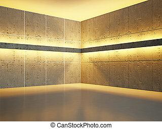 vecchio, parete concreta