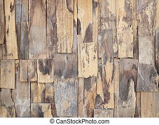 vecchio, parete legno, legno, fondo, struttura