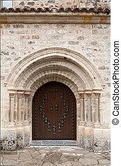 vecchio, porta, chiesa