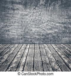 vecchio, spazio, legno, astratto, pavimento, sfondi, parete, concreto, disegno, copia, tuo