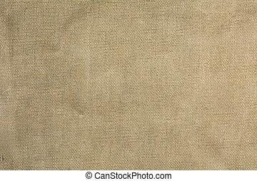 vecchio, tela ruvida, tessuto, fondo