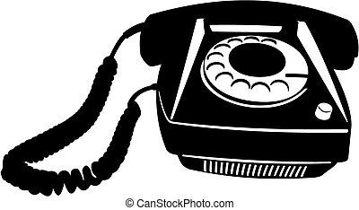 vecchio telefono