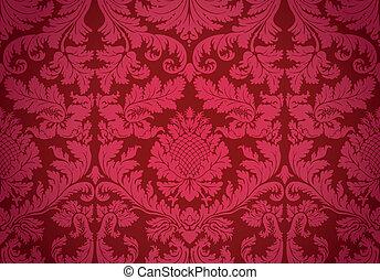 vecchio, wallpaper., vector.