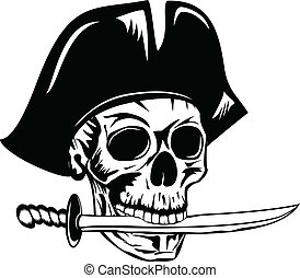 pirate with dagger
